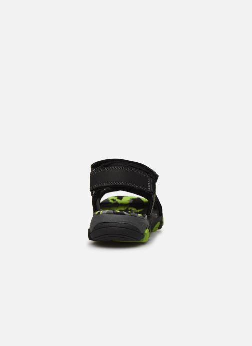 Sandales et nu-pieds Superfit Henry Noir vue droite