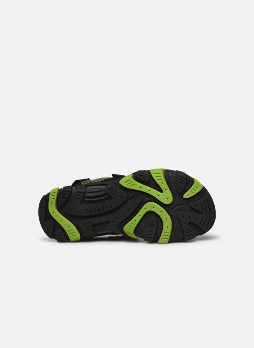 Sandales et nu-pieds Superfit Henry Noir vue haut