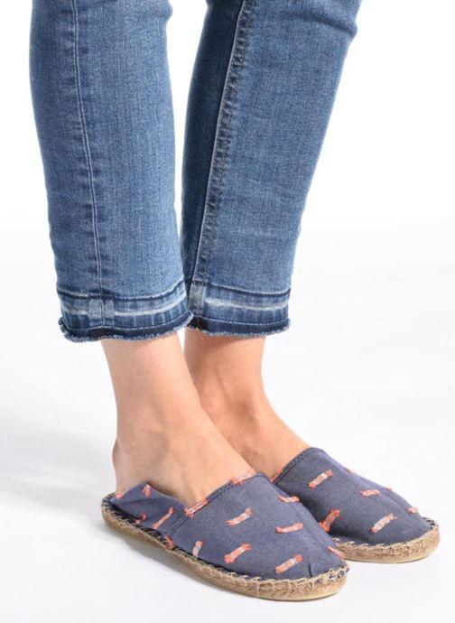 Espadrilles Arsène Pulpe Jeans Blauw onder