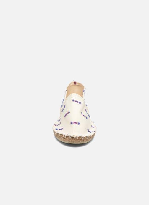 Espadrilles Arsène Pulpe Ecru Beige vue portées chaussures