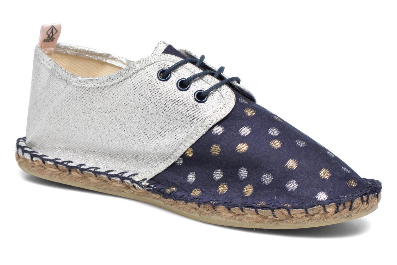 Espadrillos Arsène Comète Tennis Blå detaljeret billede af skoene