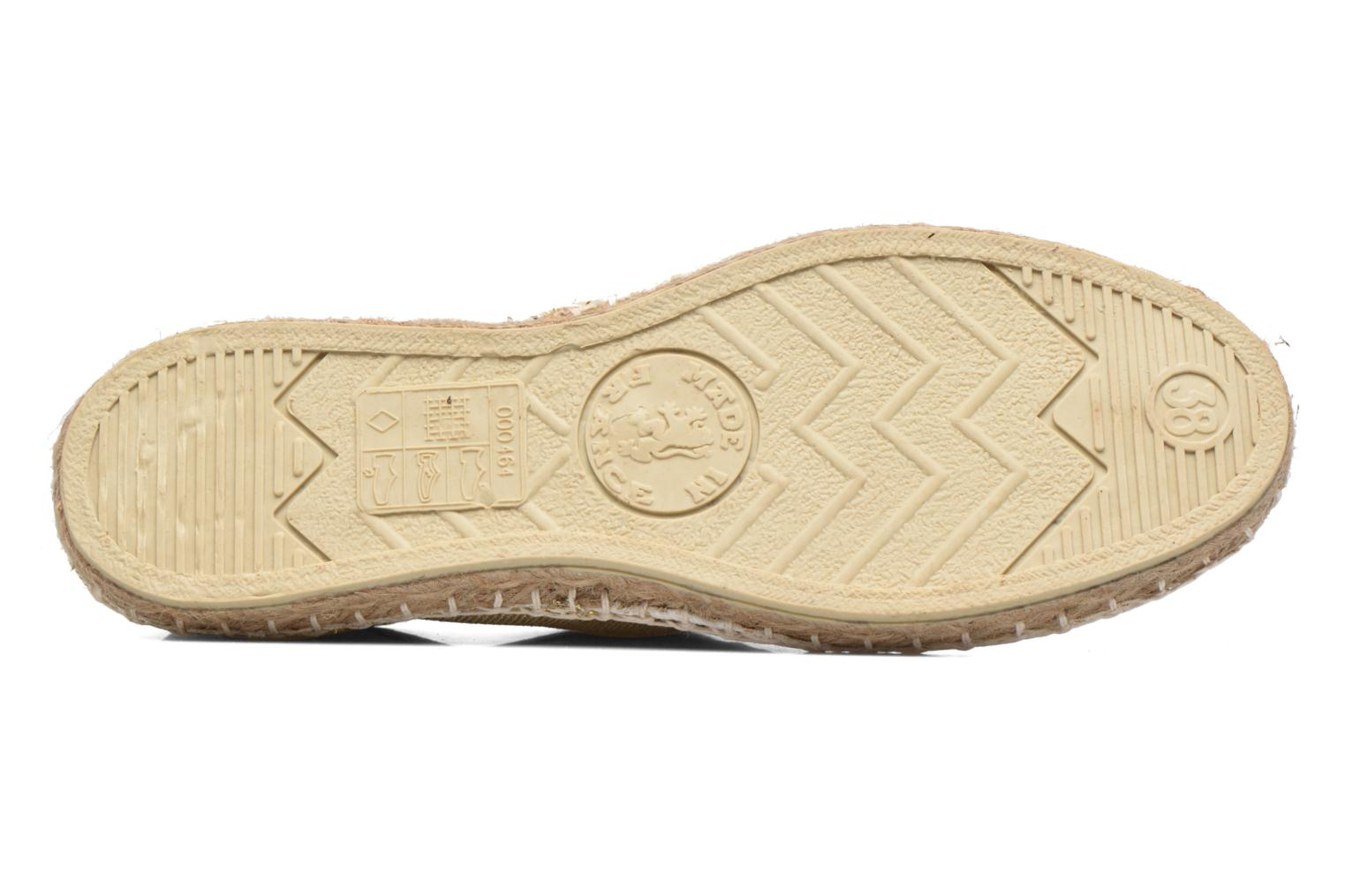 Espadrilles Arsène Tennis Golden White view from above