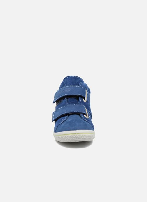 Baskets Pepino Laif Bleu vue portées chaussures