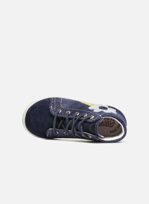 Sneaker Pepino Lissi blau ansicht von links