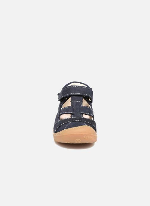 Sommerschuhe Pepino Lani blau schuhe getragen