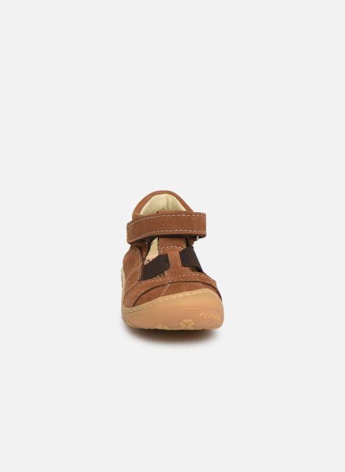 Bottines d'été PEPINO Lani Marron vue portées chaussures