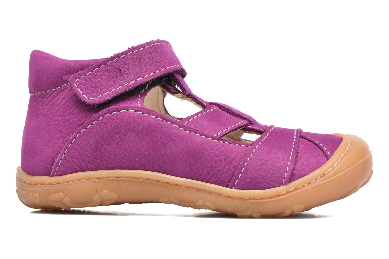 Summer boots PEPINO Lani Purple back view