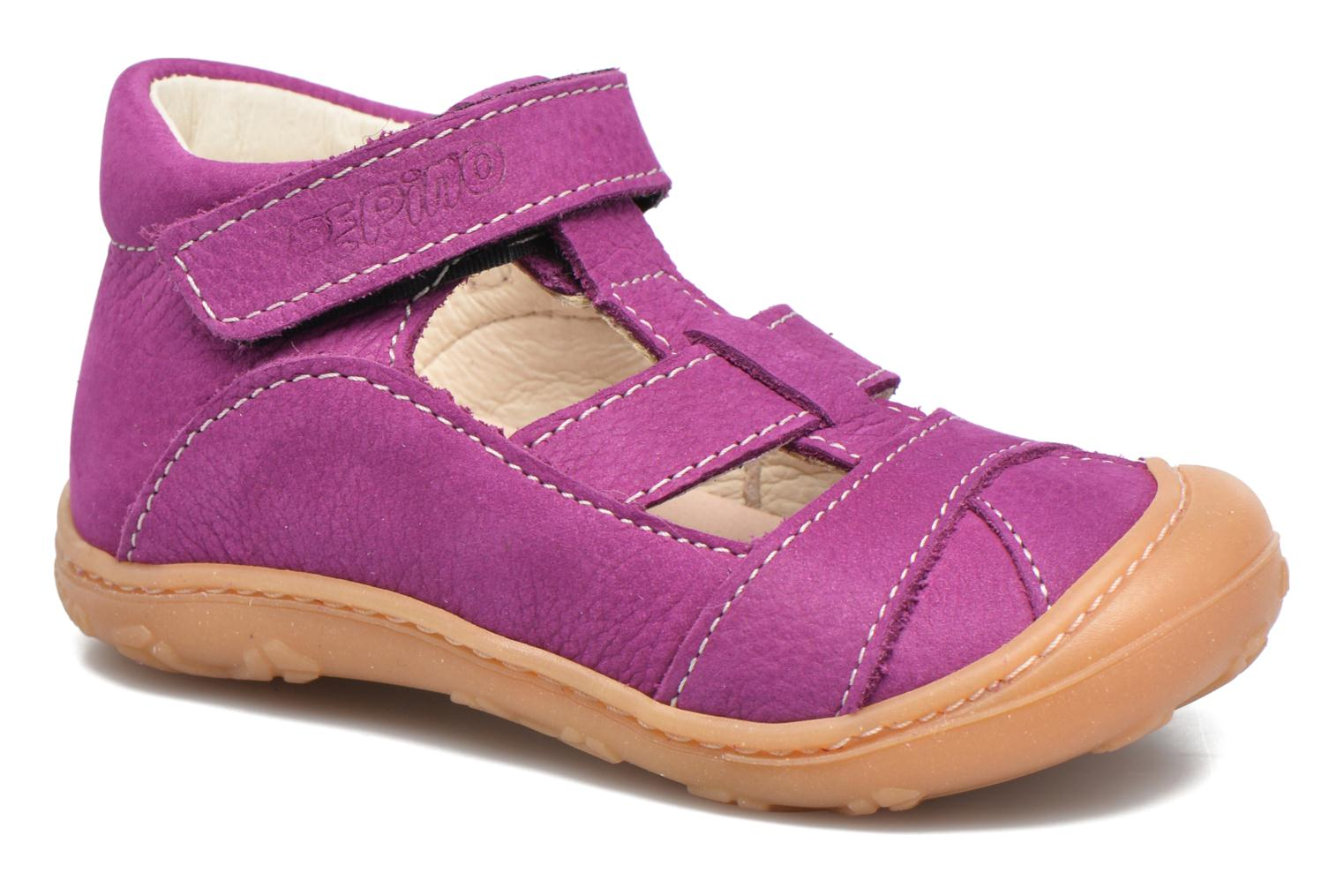 Summer boots PEPINO Lani Purple detailed view/ Pair view