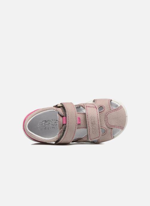 Sandali e scarpe aperte Pepino Kaspi Viola immagine sinistra