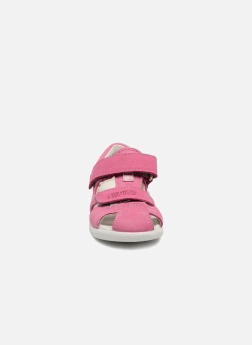 Sandalen Pepino Kaspi rosa schuhe getragen