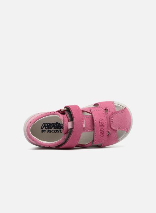 Sandales et nu-pieds PEPINO Kaspi Rose vue gauche