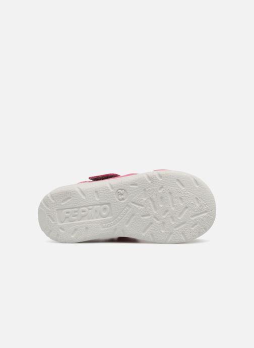 Sandales et nu-pieds PEPINO Kaspi Rose vue haut