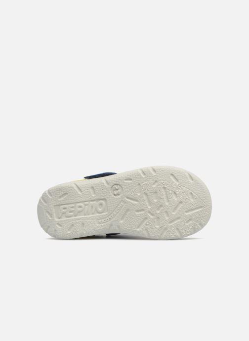 Sandales et nu-pieds Pepino Kaspi Bleu vue haut