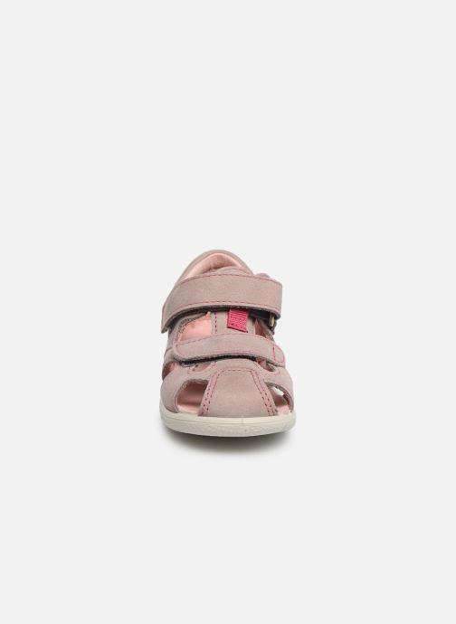 Sandales et nu-pieds PEPINO Kaspi Rose vue portées chaussures