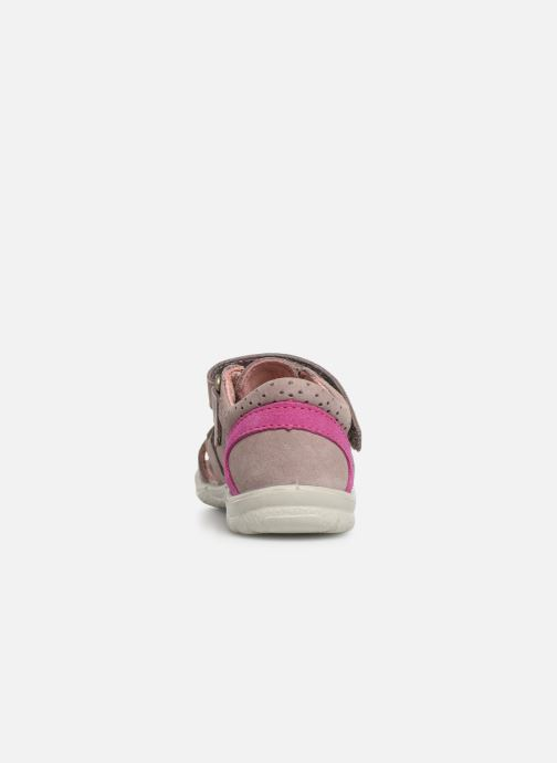 Sandales et nu-pieds PEPINO Kaspi Rose vue droite