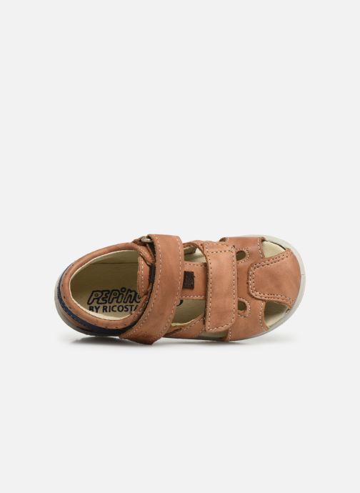 Sandali e scarpe aperte Pepino Kaspi Marrone immagine sinistra