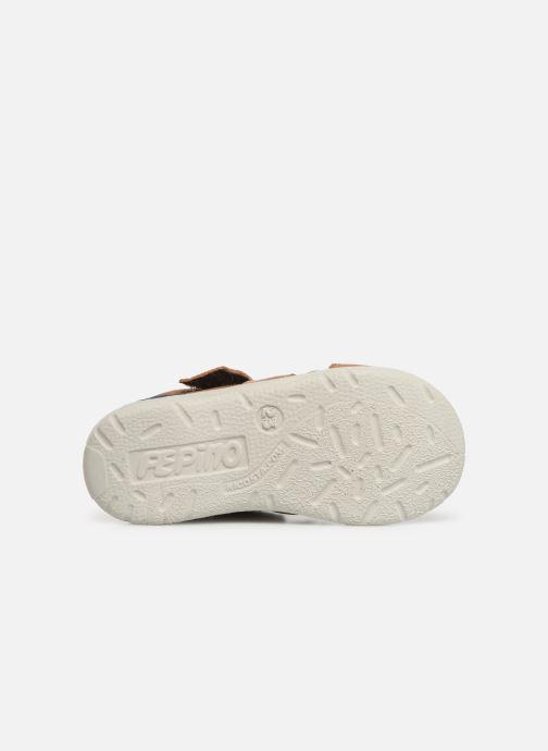 Sandali e scarpe aperte Pepino Kaspi Marrone immagine dall'alto