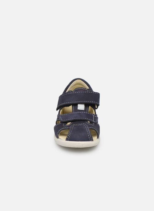 Sandales et nu-pieds Pepino Kaspi Bleu vue portées chaussures