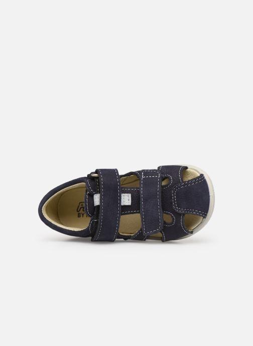 Sandales et nu-pieds PEPINO Kaspi Bleu vue gauche