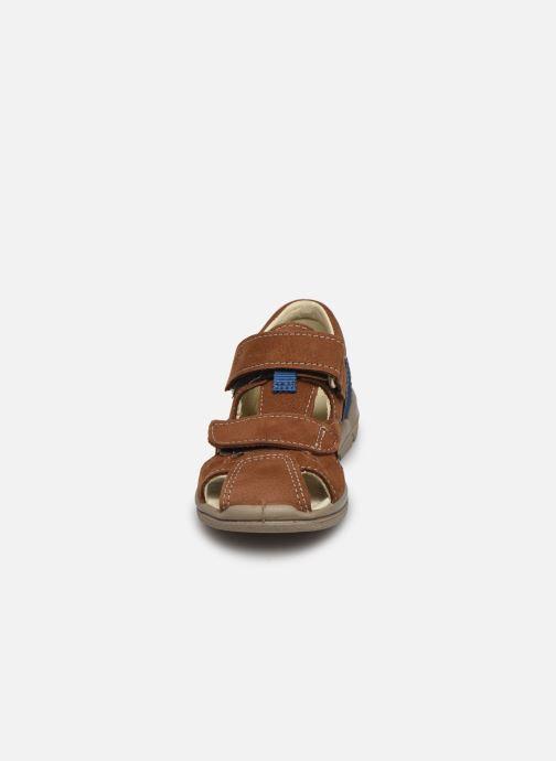 Sandales et nu-pieds Pepino Kaspi Marron vue portées chaussures