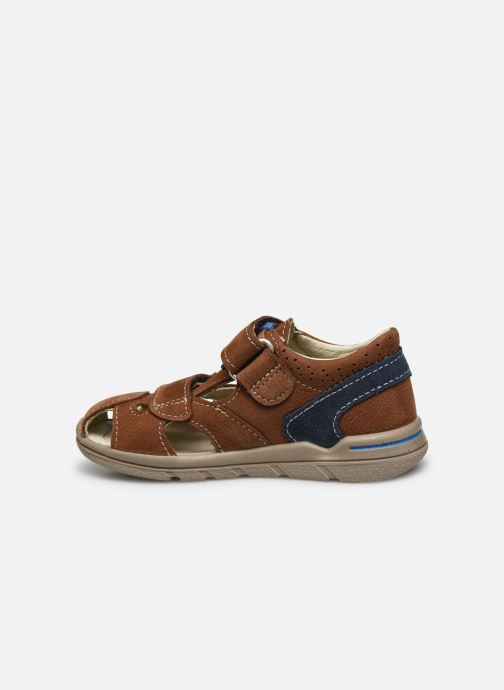 Sandales et nu-pieds Pepino Kaspi Marron vue face