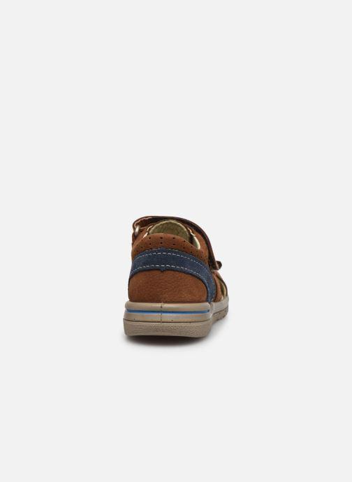 Sandales et nu-pieds Pepino Kaspi Marron vue droite