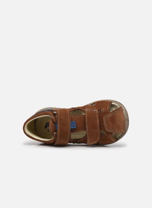 Sandales et nu-pieds Pepino Kaspi Marron vue gauche