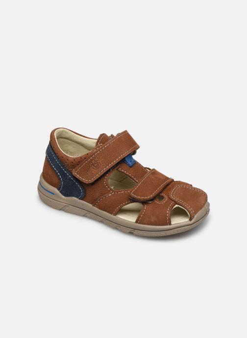 Sandales et nu-pieds Pepino Kaspi Marron vue détail/paire