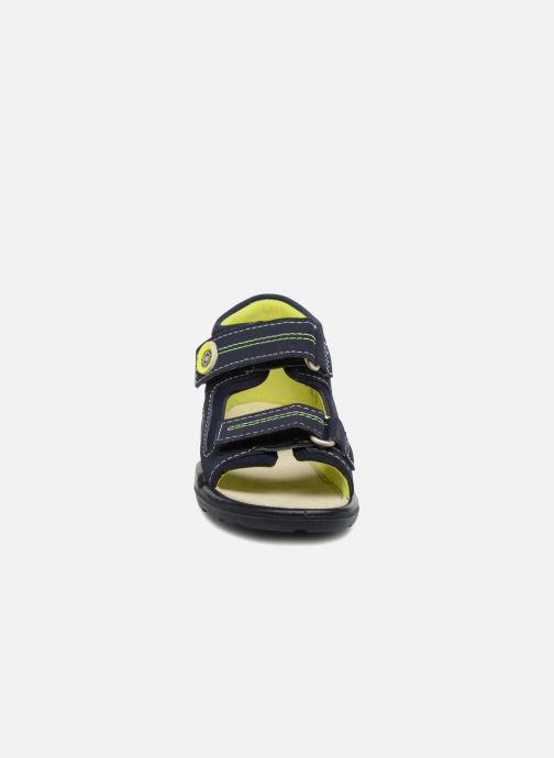 Sandales et nu-pieds Pepino Manti Bleu vue portées chaussures