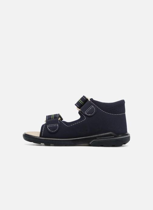 Sandales et nu-pieds Pepino Manti Bleu vue face