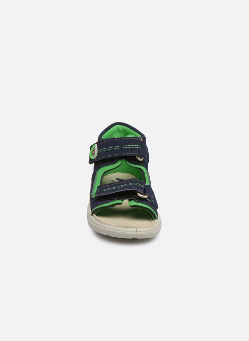 Sandalen Pepino Manti blau schuhe getragen