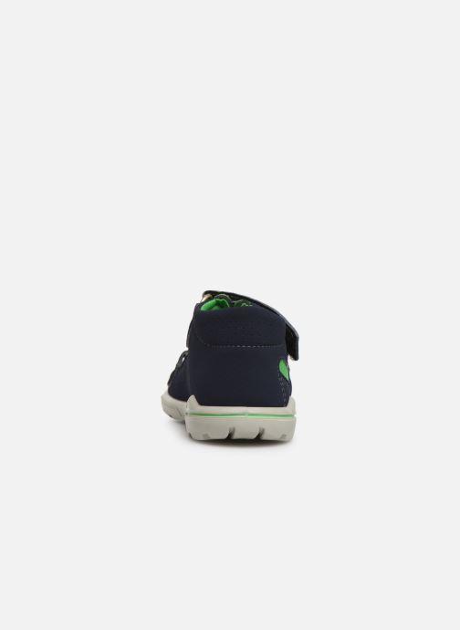 Sandales et nu-pieds Pepino Manti Bleu vue droite
