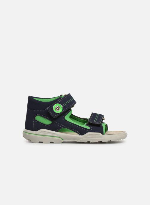 Sandales et nu-pieds Pepino Manti Bleu vue derrière