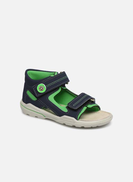 Sandals PEPINO Manti Blue detailed view/ Pair view