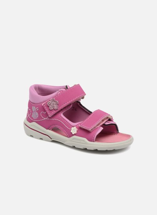 Sandals PEPINO Kittie Pink detailed view/ Pair view