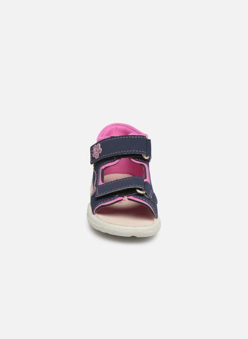 Sandales et nu-pieds Pepino Kittie Bleu vue portées chaussures