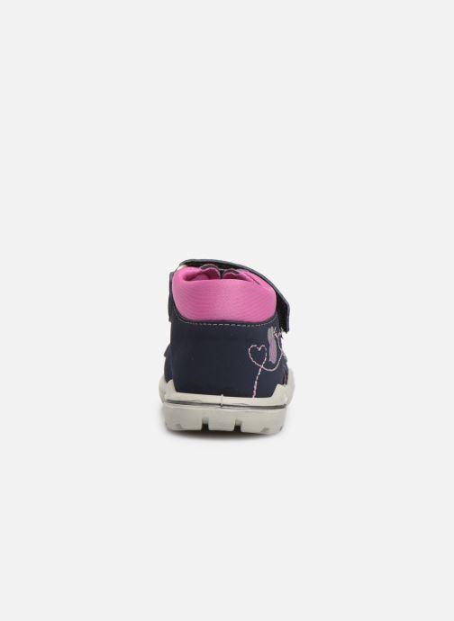 Sandales et nu-pieds Pepino Kittie Bleu vue droite