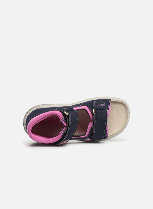 Sandales et nu-pieds Pepino Kittie Bleu vue gauche