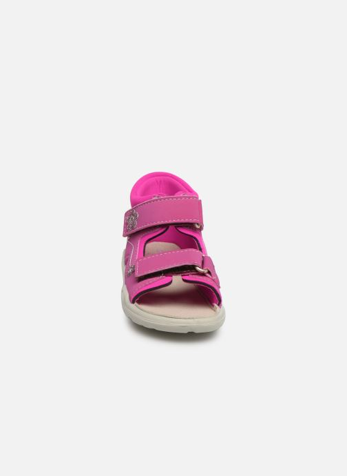 Sandales et nu-pieds PEPINO Kittie Rose vue portées chaussures
