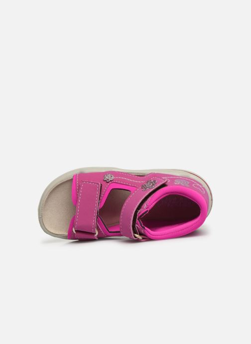 Sandals Pepino Kittie Pink view from the left