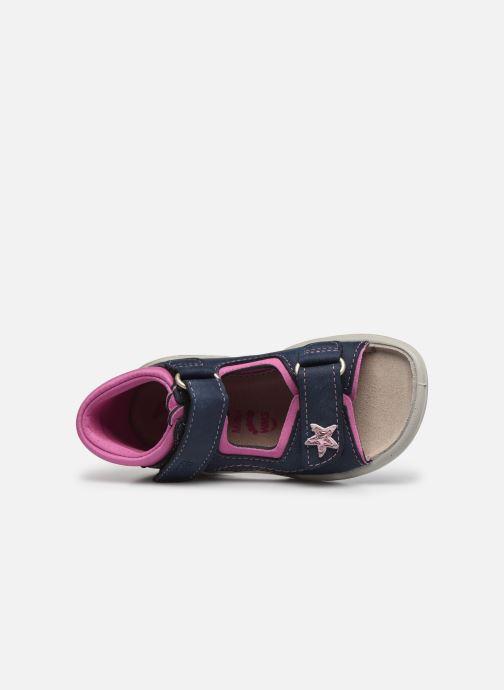 Sandali e scarpe aperte Pepino Kittie Azzurro immagine sinistra