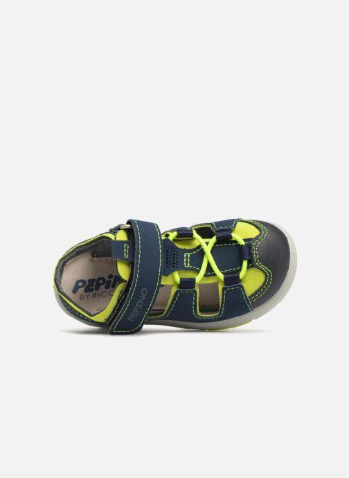 Sandales et nu-pieds Pepino Gery Bleu vue gauche