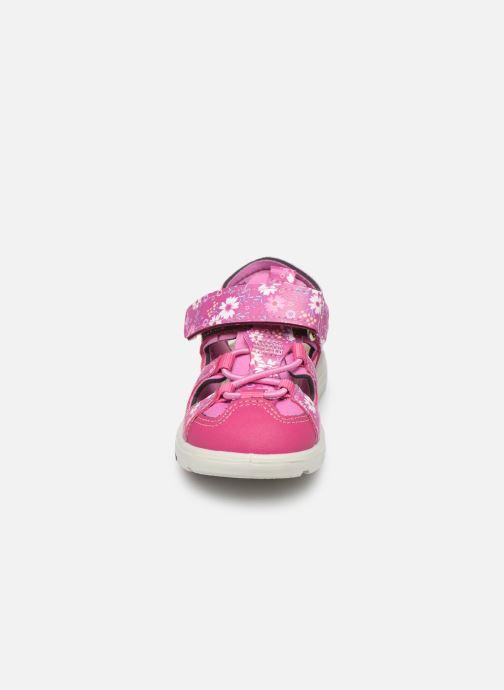Sandales et nu-pieds Pepino Gery Rose vue portées chaussures