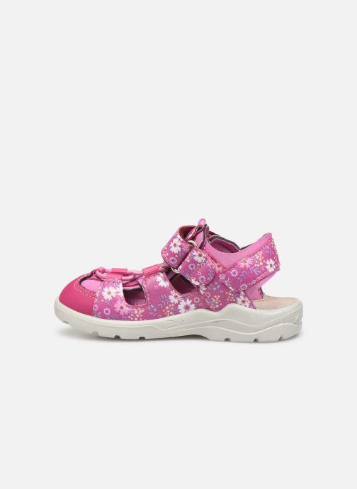 Sandales et nu-pieds PEPINO Gery Rose vue face