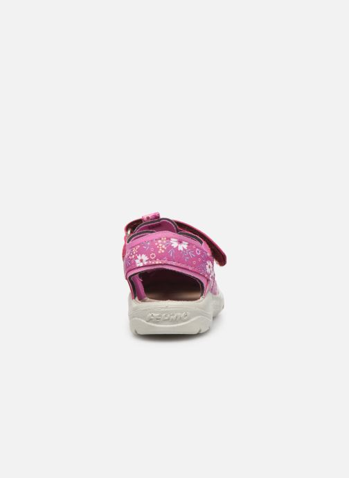 Sandales et nu-pieds Pepino Gery Rose vue droite