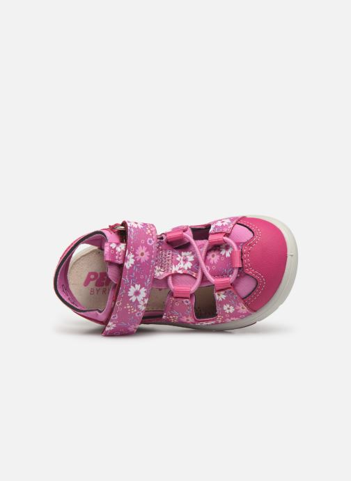 Sandales et nu-pieds PEPINO Gery Rose vue gauche