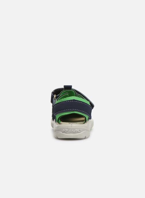 Sandales et nu-pieds PEPINO Gery Bleu vue droite