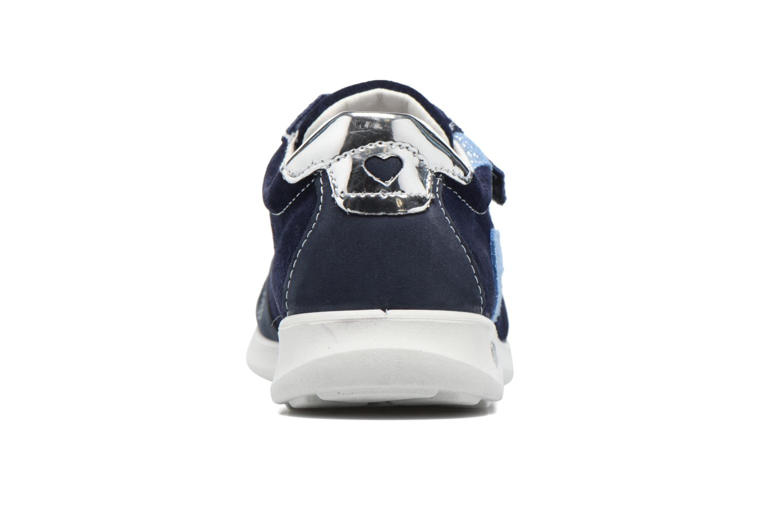 Trainers Ricosta Tabea Blue view from the right
