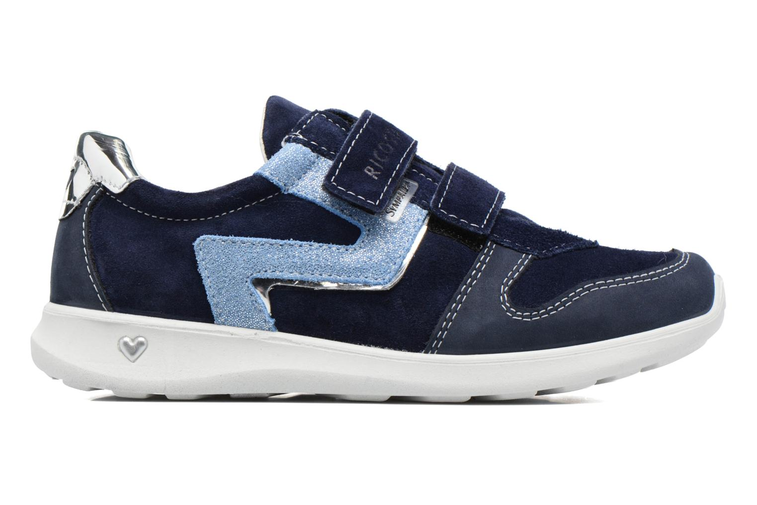 Sneakers Ricosta Tabea Blauw achterkant