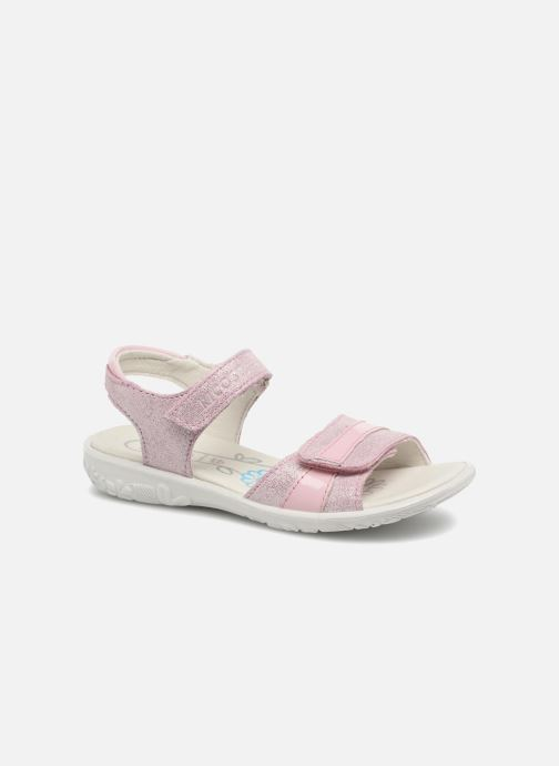 Sandals Ricosta Marie Pink detailed view/ Pair view